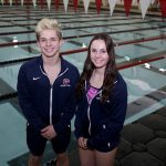 Fitch Swimmers Advance to District Finals