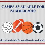 Summer Camps for 2019