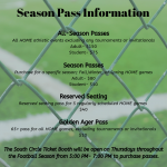 Season Pass Information