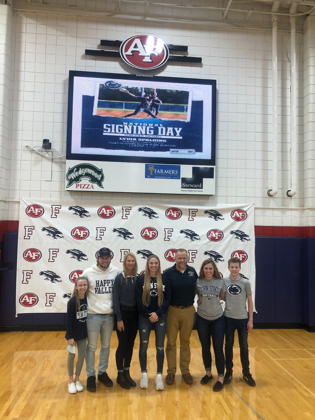 Softball Standout Lydia Spalding Signs with Penn State