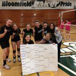 CO-ED VOLLEYBALL TOURNAMENT CHAMPS!