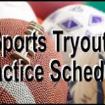 2013 FALL SPORTS TRYOUT INFORMATION
