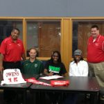 KHERI MOTLEY SIGNS TO PLAY BASKETBALL AT OWENS COMMUNITY COLLEGE