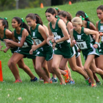Girls Varsity Cross Country competes at Spartan Invite