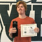 "Garrett Winfrey Wins October ""Laker Athlete of the Month"""
