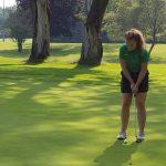Girls Varsity Golf falls to Farmington 199 – 244