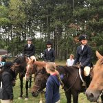Lakers Equestrian Riding Great in Competition