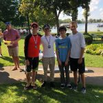 Coed Varsity Sailing finishes 3rd place at Tier 3 Red Hat Regatta