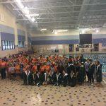 Girls Varsity Swimming finishes 1st place at Brandon