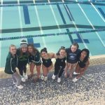 Girls Varsity Swimming & Diving finishes 26th place at County Meet @ Waterford