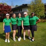 Girls Varsity Golf finishes 4th place at Oaa Blue 18 Hole Tournament