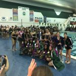 Girls Varsity Swimming & Diving finishes 1st place at Meet @ West Bloomfield High School