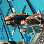 Girls Varsity Swimming finishes 3rd place at League Meet @ Royal Oak High School