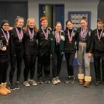 WBHS Figure Skating Finishes with an Overall First Place in Their Third District Meet