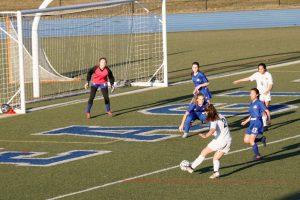 Girls JV Soccer 3-26-2019 at Lakeland