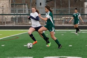 Girls JV Soccer 4-11-2019 vs. Farmington