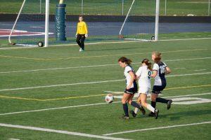 Girls JV Soccer 4-16-2019 at Berkley