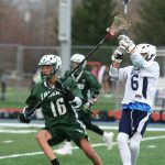 Boys Junior Varsity Lacrosse beats Farmington 5 – 3