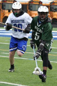 Boys JV Lacrosse win 3 to 1 against Rochester 4/11/19