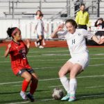 Girls Junior Varsity Soccer beats Farmington 1 – 0