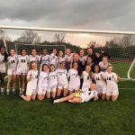 Girls Soccer win the league with 4-4 tie vs Oxford.