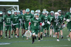 Boys Varsity Playoff Game win in Double Overtime 7-6 against Livonia United