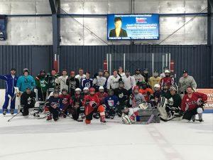 Hockey 5-19-2019 District and Alumni Skate