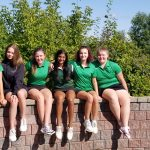 Girls Varsity Golf finishes 5th place at League Tournament @ TBA