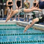 Girls Swim and Dive Wins Double Dual Meet Against North Farmington and Brandon-Goodrich High Schools