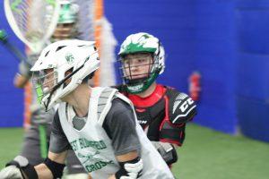Boys Lacrosse Team Practice 3/12/20
