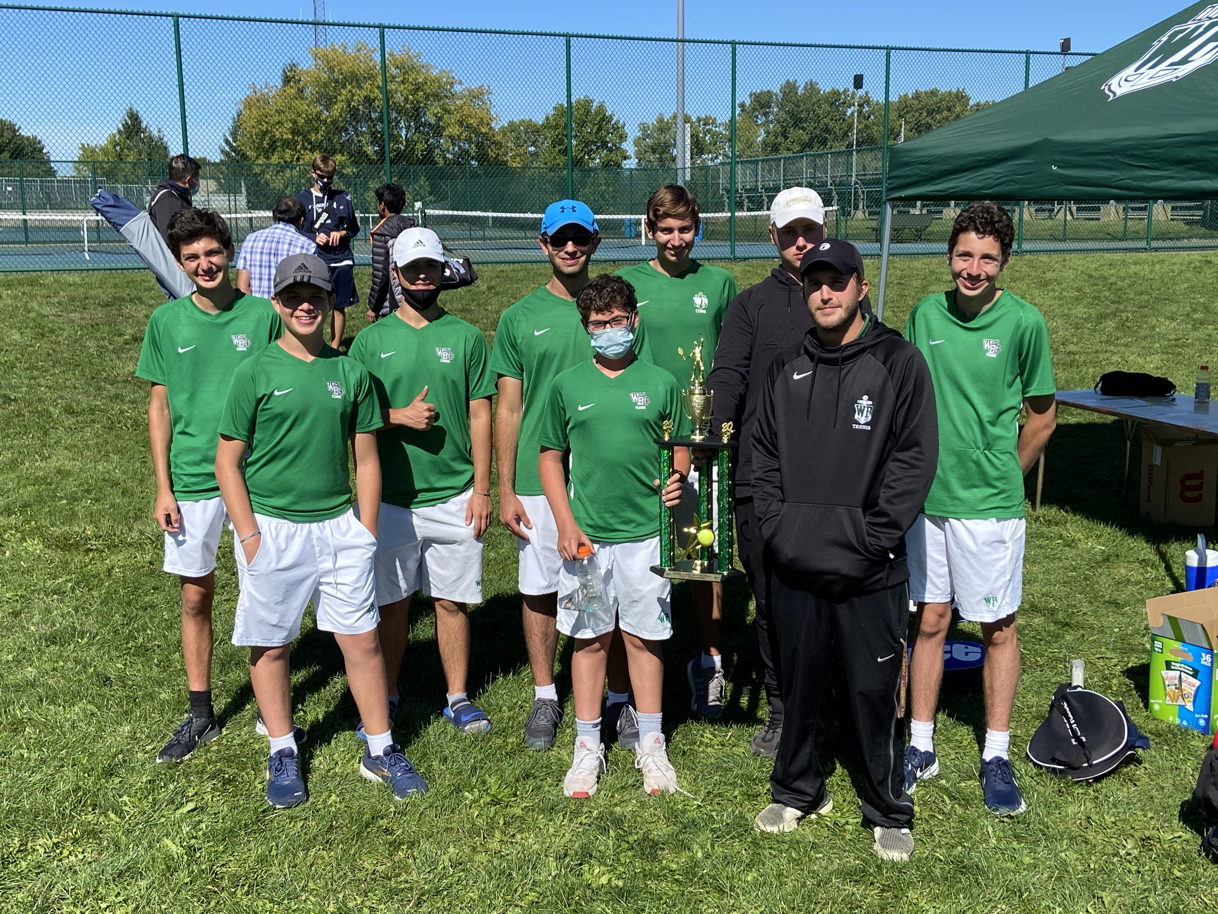 Tennis Varsity Invitational 9/19/20