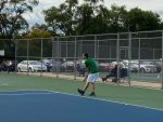 Boys Tennis advance to district finals after tiebreak rule