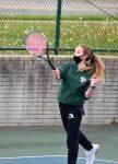 Girls Varsity Tennis falls to Groves 6 – 2