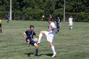 Boys Soccer action shots