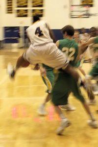 Boys BB against Northridge