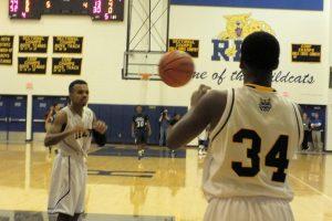 Boys BB against Elkhart Central
