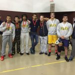 Wrestling Team Runners-Up in NIC
