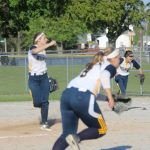 South Bend Riley High School Varsity Softball beat Jimtown 1-0