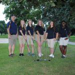 Girls Golf Scores