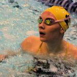 Girls Swimmers named Academic All-State