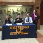 Richard Davila signs with Trine University