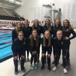 Girls Swim Team finishes 13th at State