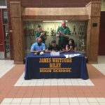 Scott Signs with Huntington University
