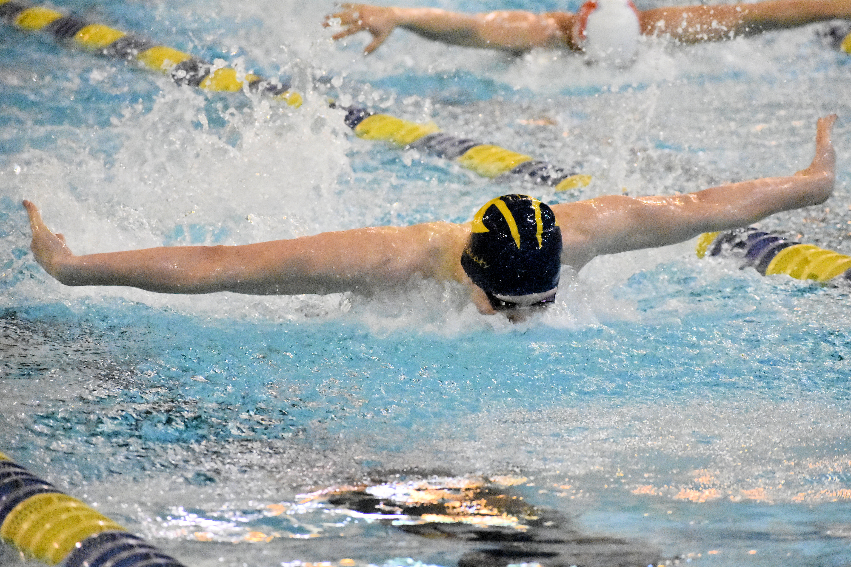 Boys Swim & Dive finish 2nd in NIC