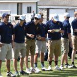Golf against New Prairie and John Glenn