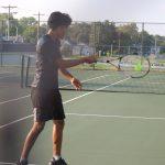 Tennis against Adams
