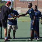 Boys Tennis against John Glenn