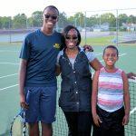 Boys Senior Night Tennis against Clay