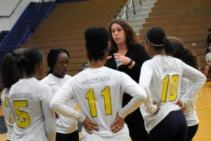 JV Volleyball agst Clay