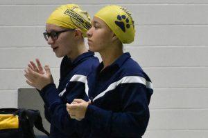 Girls Swim against Marian